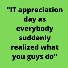 AIOps and COVID Drive IT Appreciation Day