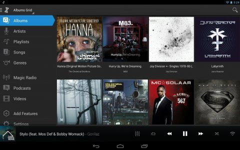 aplikasi pemutar mp3 android doubletwist music player