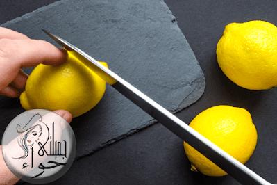 ماسك قشر الليمون للبشرة