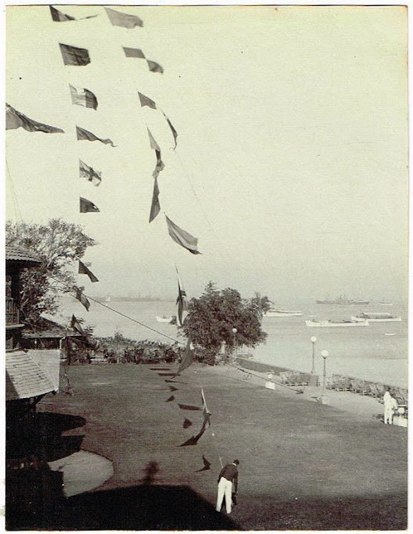 Bombay Yacht Club Lawn c1905