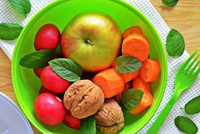 Sok marchewkowy z jabłkami i bananem