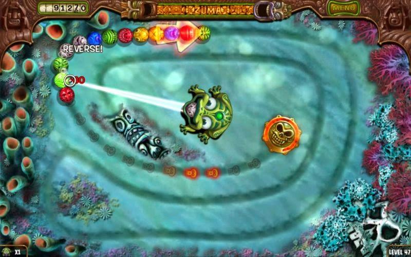 Zuma deluxe free game screenshots.