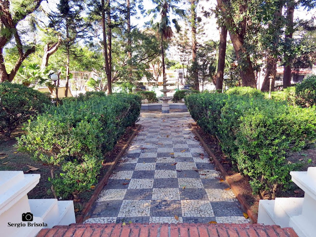 Palacete Violeta (jardim e fonte)