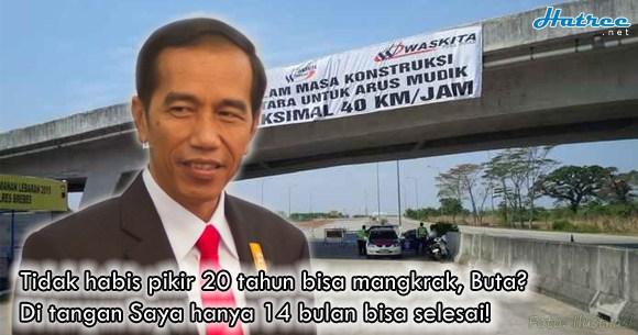 Proyek Tol Pejagan-Brebes Timur Mangkrak 20 Tahun, Masuk era Jokowi: Hanya 14 Bulan, Selesai!