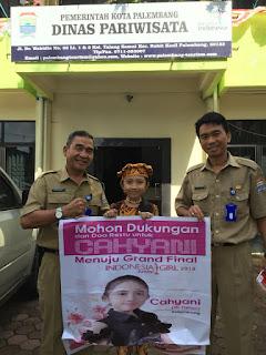 Cahyani Wakil Sumsel di Indonesia Girl 2018