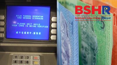 Tarikh Bayaran BSH Tambahan RM100 dan e-Tunai RM50