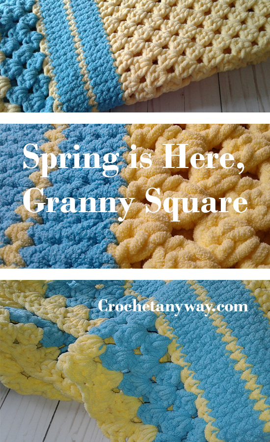 Spring is here granny square