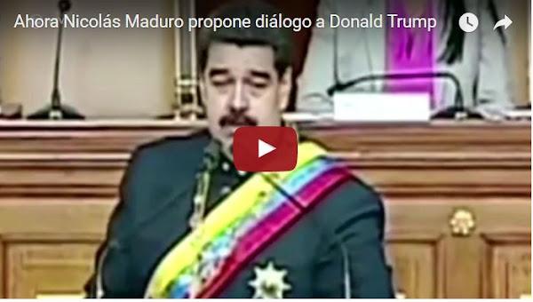 La Casa Blanca rechazó una llamada telefónica de Nicolás Maduro