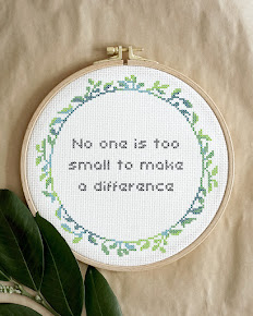 Fridays for Future embroidery inspo