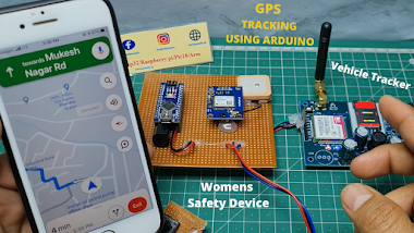 Arduino Gps And Gsm Based location Tracking System