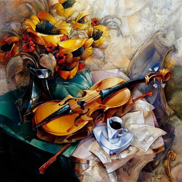 Израильский художник. Nathan Brutsky 21