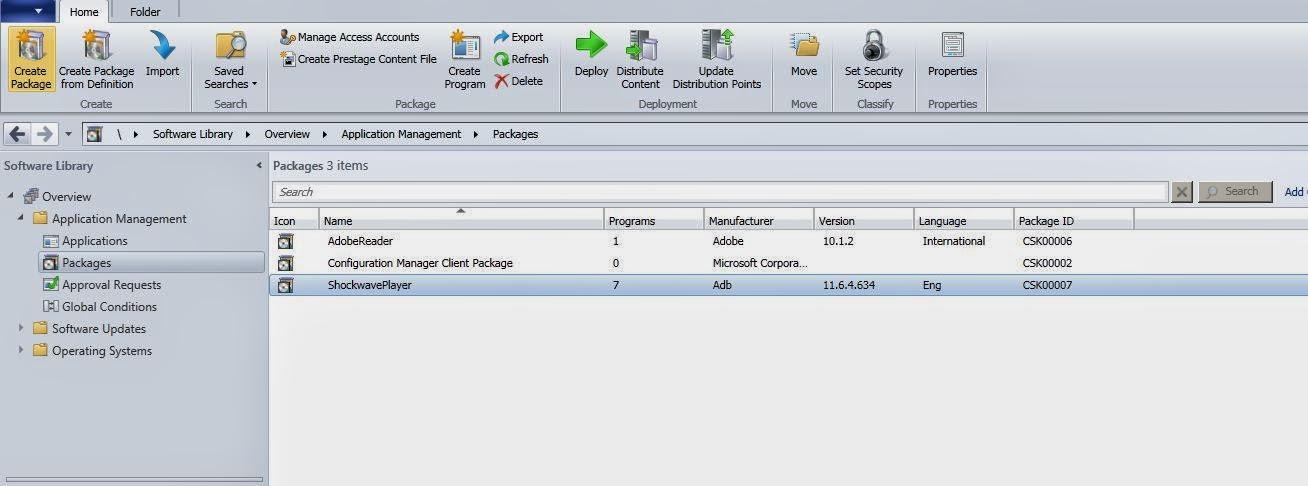 SCCM & Application Packaging: Software Distribution in SCCM
