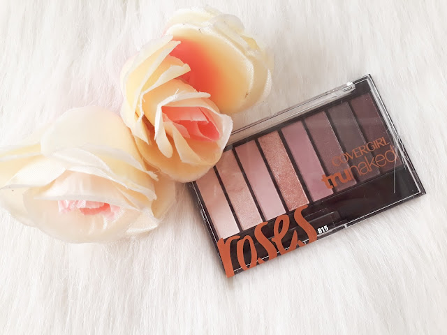 Covergirl TruNaked Eyeshadow Palette in Roses Review
