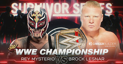 WWE Rey Brock Survivor Series Championship 2019