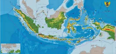 Perbandingan Luas Perairan dan Daratan Indonesia