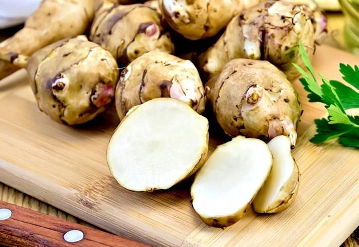 Propiedades nutricionales de la alcachofa de jerusalén