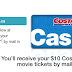 [Costco] 开通新会员送$10礼卡及两张影票