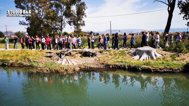 Γνωριμία με τον ζωτικό Ερασίνο ποταμό της Αργολίδας (βίντεο)