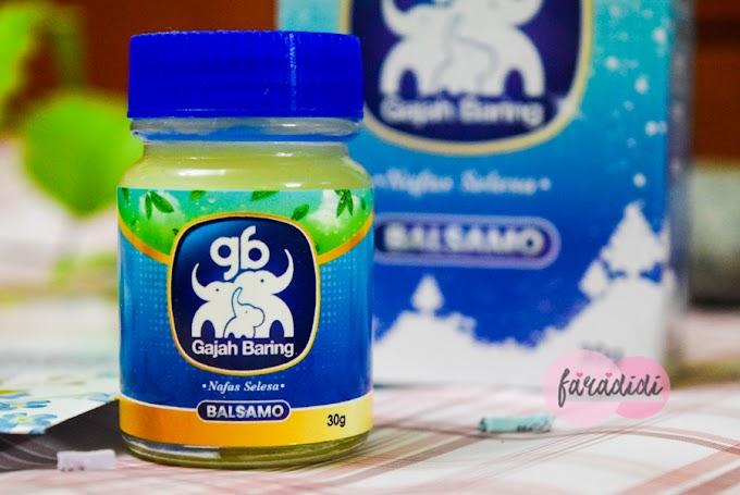 Nafas Selesa Selepas Gunakan Garlic Balm Gajah Baring BALSAMO