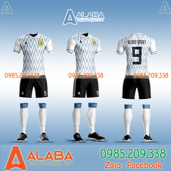 Tổng Hợp Các Mẫu Áo Đấu Đội Tuyển Argentina 2020 Đẹp Nhất Hiện Nay