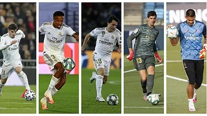Revealed: Five players who haven't scored for Real Madrid a league Goal in 2019/20