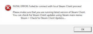 """Cara Mengatasi """"FATAL ERROR: Failed to Connect with Local Steam Client Process!"""" CSGO Work 100%"""
