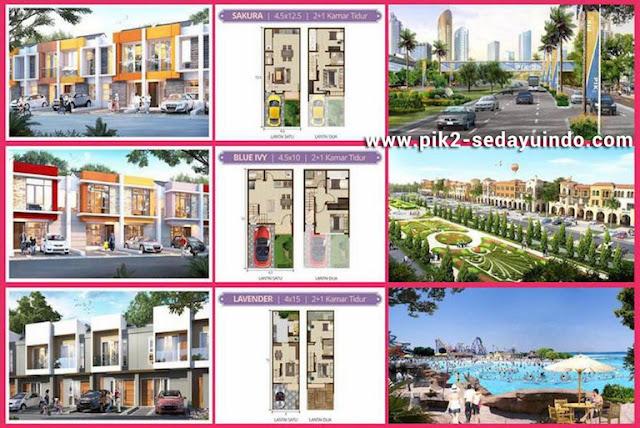 Rumah PIK 2 Dijual Perdana Cluster Scarlet
