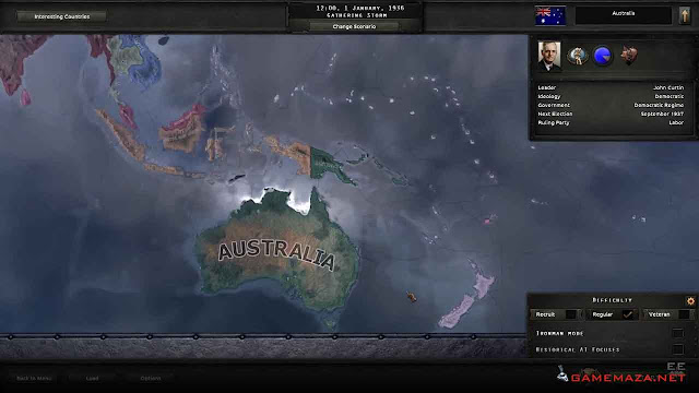 Hearts of Iron IV Together For Victory Gameplay Screenshot 1
