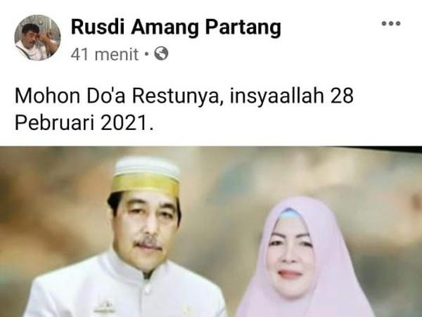 Edit Foto Bupati Sidrap Akan Menikah, Fotografer di Sulsel Ditangkap Polisi