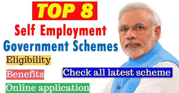 Self Employment Government Schemes
