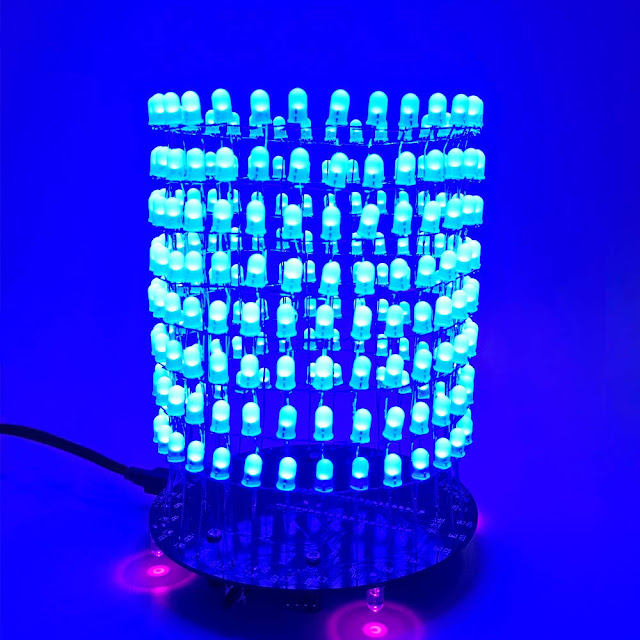 3D LED Cube Light