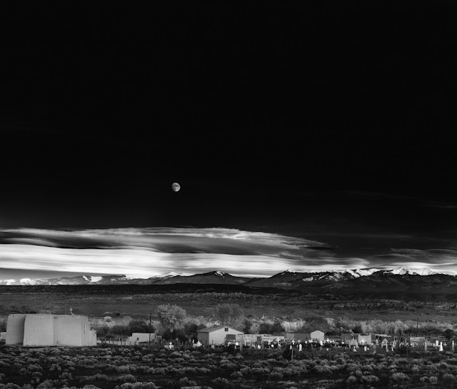 "Ansel Adams - ""Moonrise, Hernandez, New Mexico"""