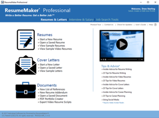 ResumeMaker Professional Deluxe 20.1.2.170  | PC Software | Free Download