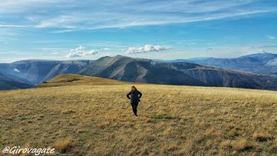 piani ragnolo trekking monti Sibillini