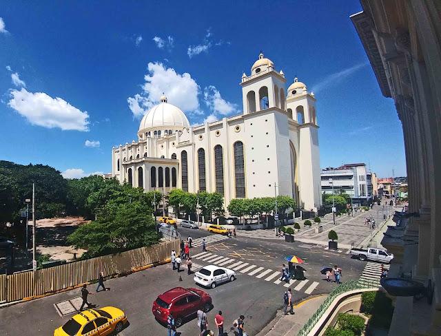 Catedral Metropolitana from Palacio Nacional
