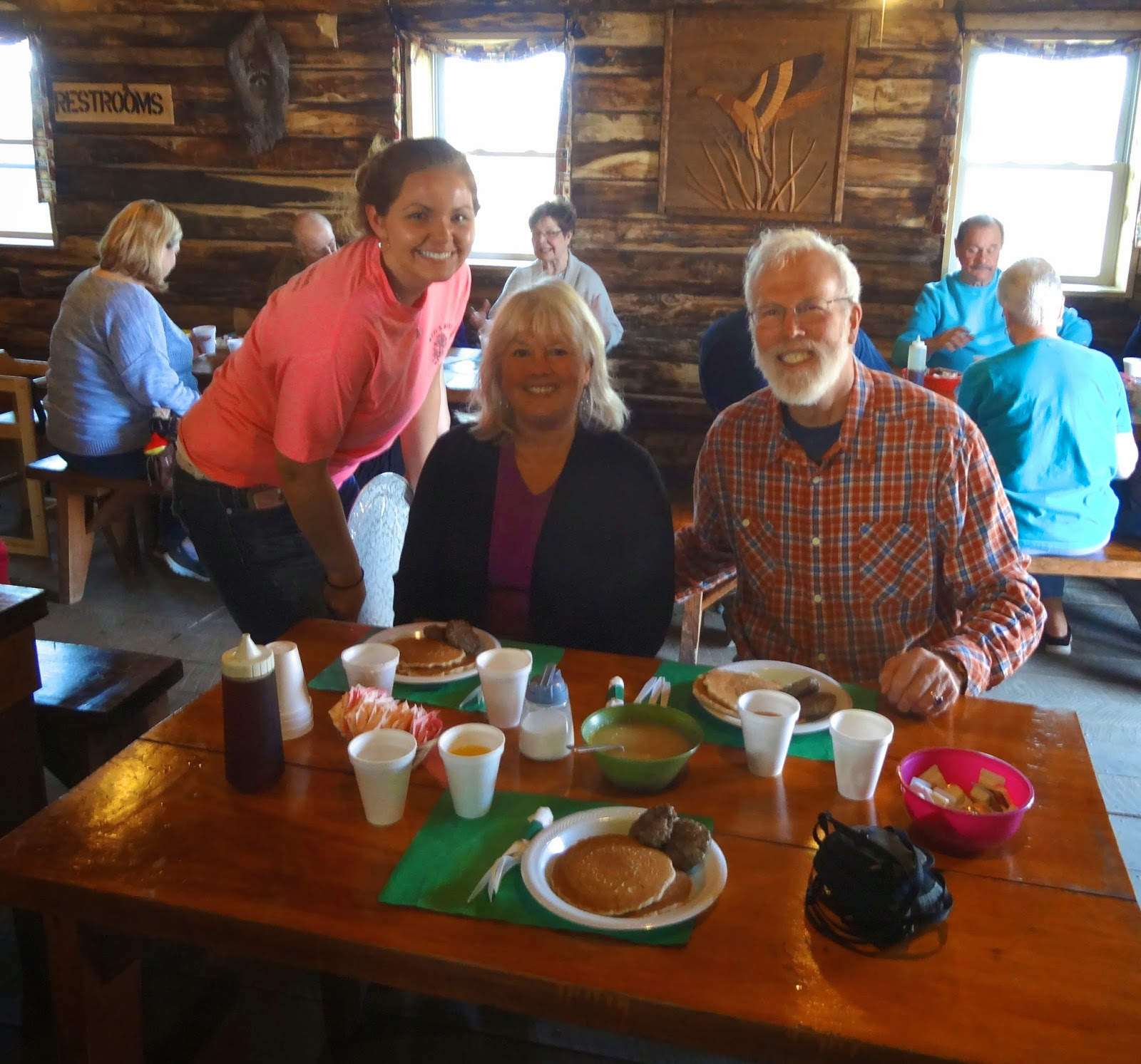 56fcc527dfc EARLY RISING ON CHAUTAUQUA LAKE  Breakfast At Red s Best Pancake House