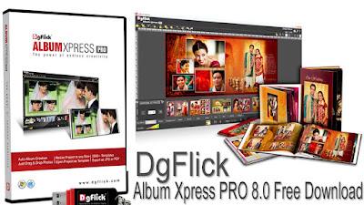 DgFlick Album Xpress PRO 8.0