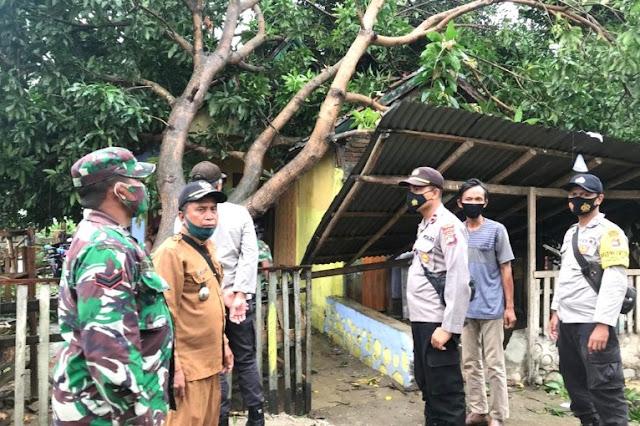 Puting beliung hantam 6 rumah di wilayah Pajo Dompu