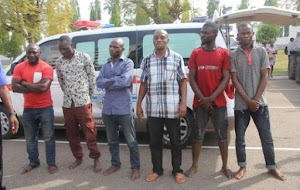 Check In To See Faces of suspects in assassination attempt of Dino Melaye