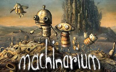puzzle adventure yang di buat oleh tim pengembang Amanita Design Machinarium apk + obb