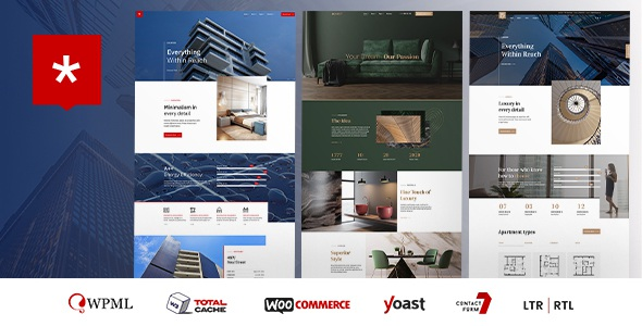 Real Estate & Single Property Website Theme