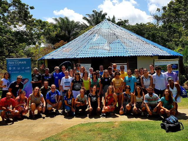 Ações do PAN Corais na Bahia e no Espírito Santo são debatidas
