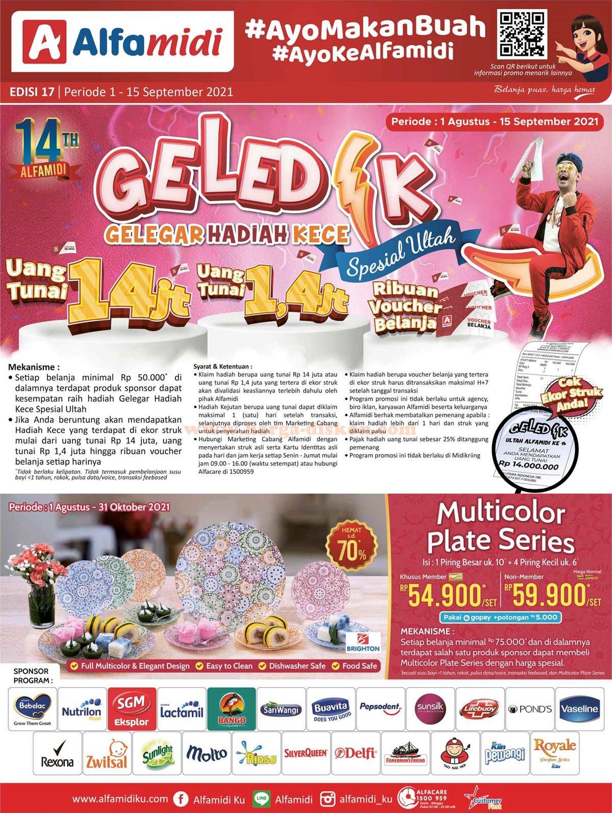 Katalog ALFAMIDI Promo ALFAMIDI Terbaru 1 - 15 September 2021