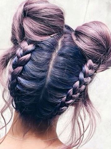 workout braid inspiration