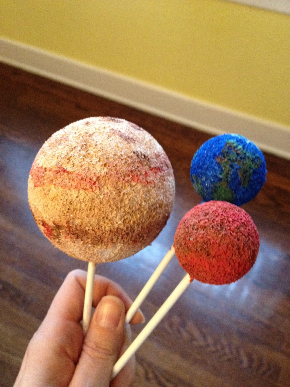 Earth Mars Planet Cake - Pics about space