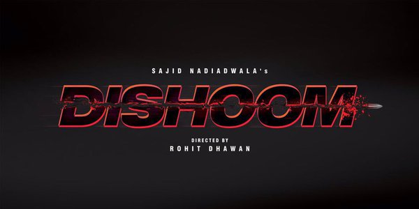 First official logo of the movie 'Dishoom' has been unveiled.