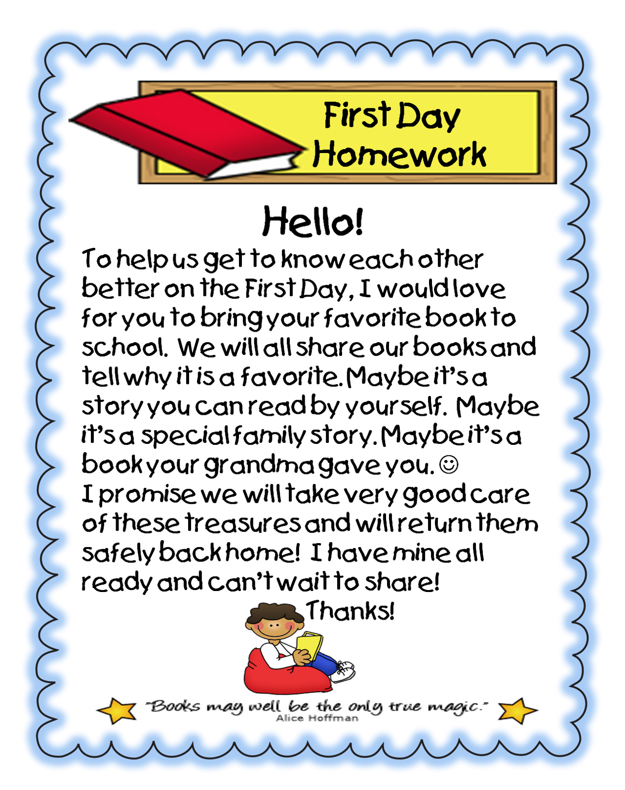 First Grade Wow Beginning Of The Year Forms