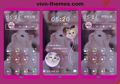 Ziegler Cat Parts Theme For Vivo Android Smartphone