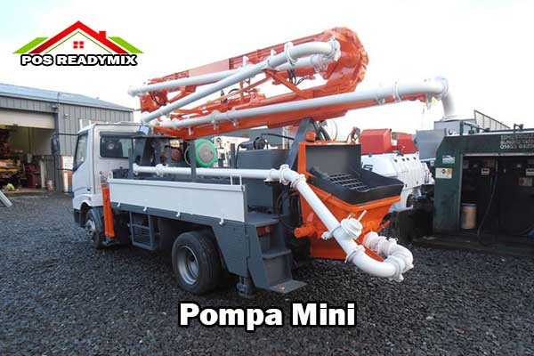 Harga Sewa Pompa Mini 2021