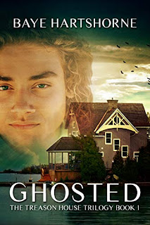 Ghosted: The Treason House Trilogy by Baye Hartshorne - book promotion companies